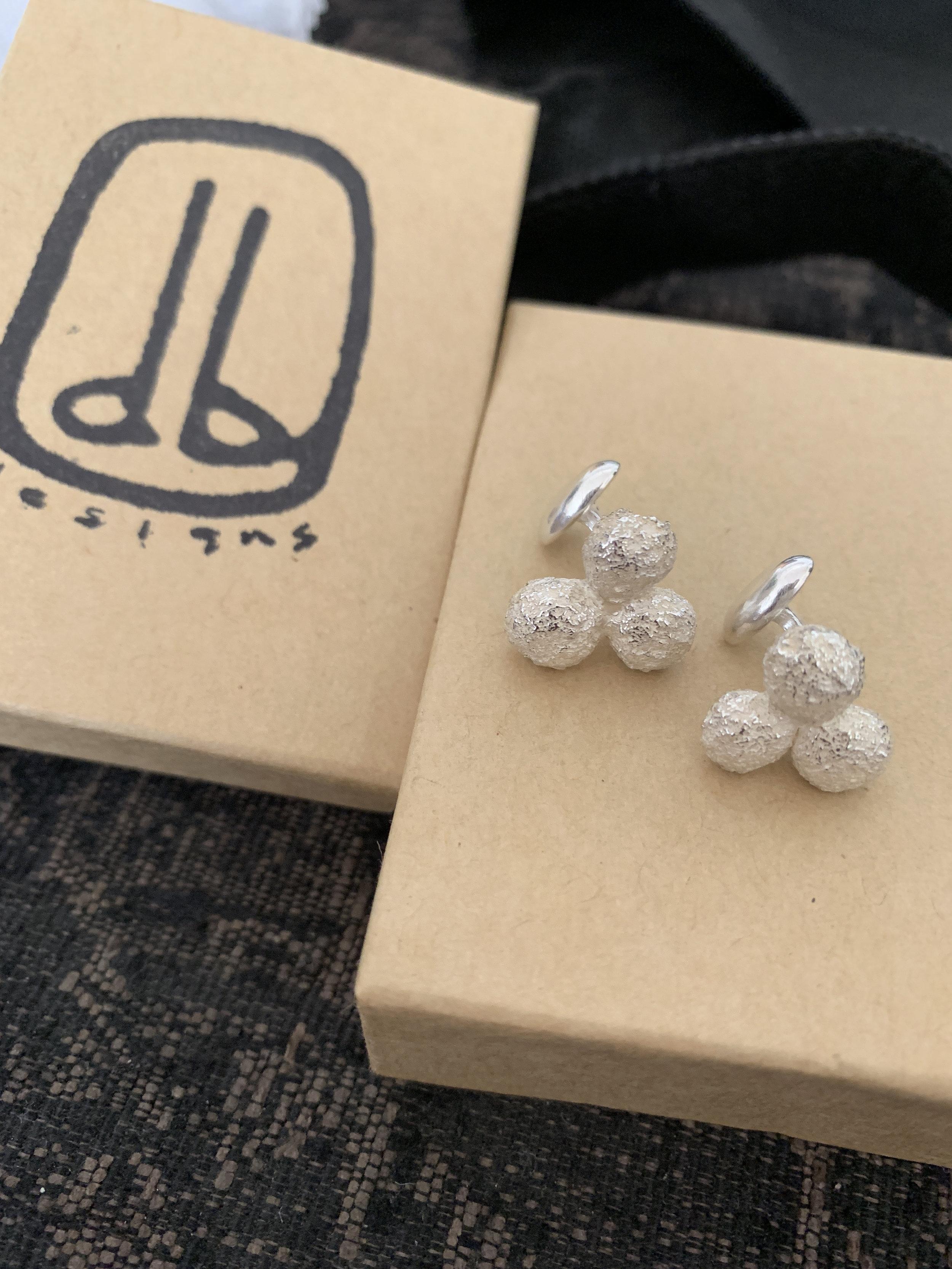 custom made sterling silver cufflinks