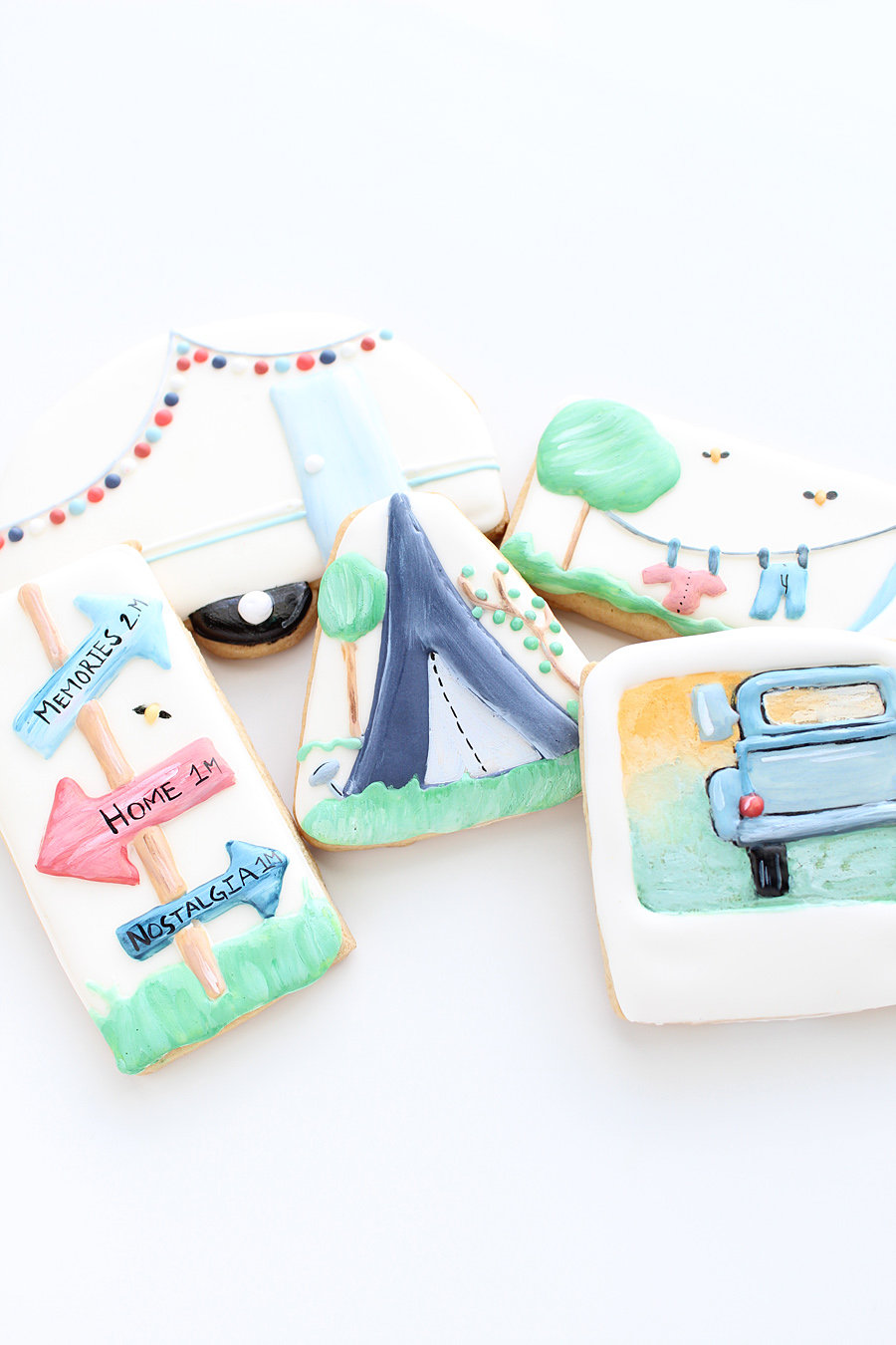 Commissioned Cookies Hand Painted & Layered | $200+/Dozen  1 Dozen Minimum