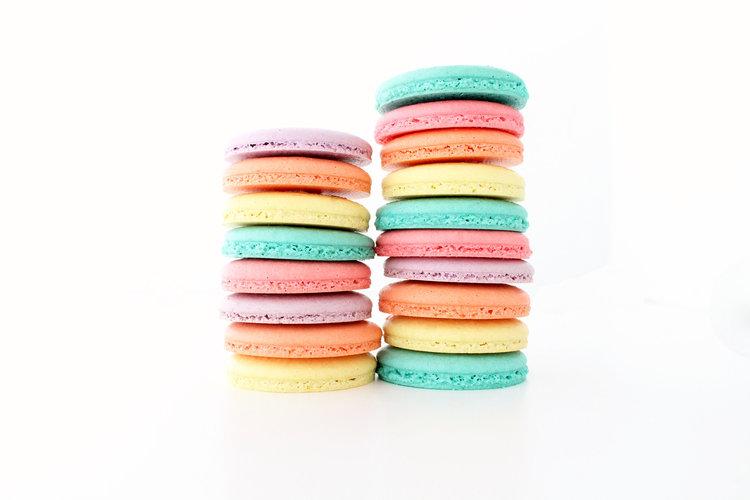 Macarons Colored Batter - $40/Dozen$72/2 Dozen