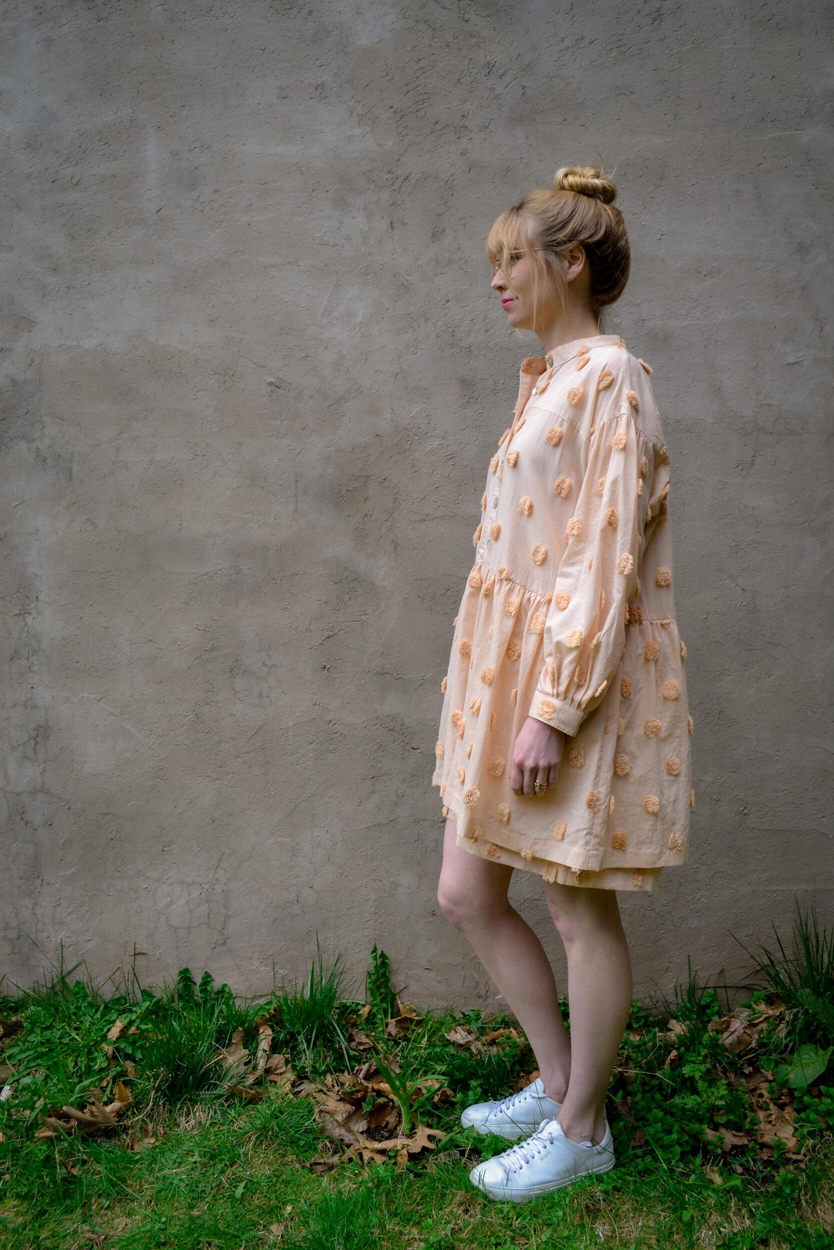 Vintage St Honore dress