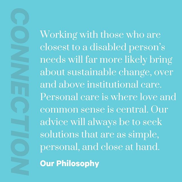 Our Philosophy Point #2: Connection