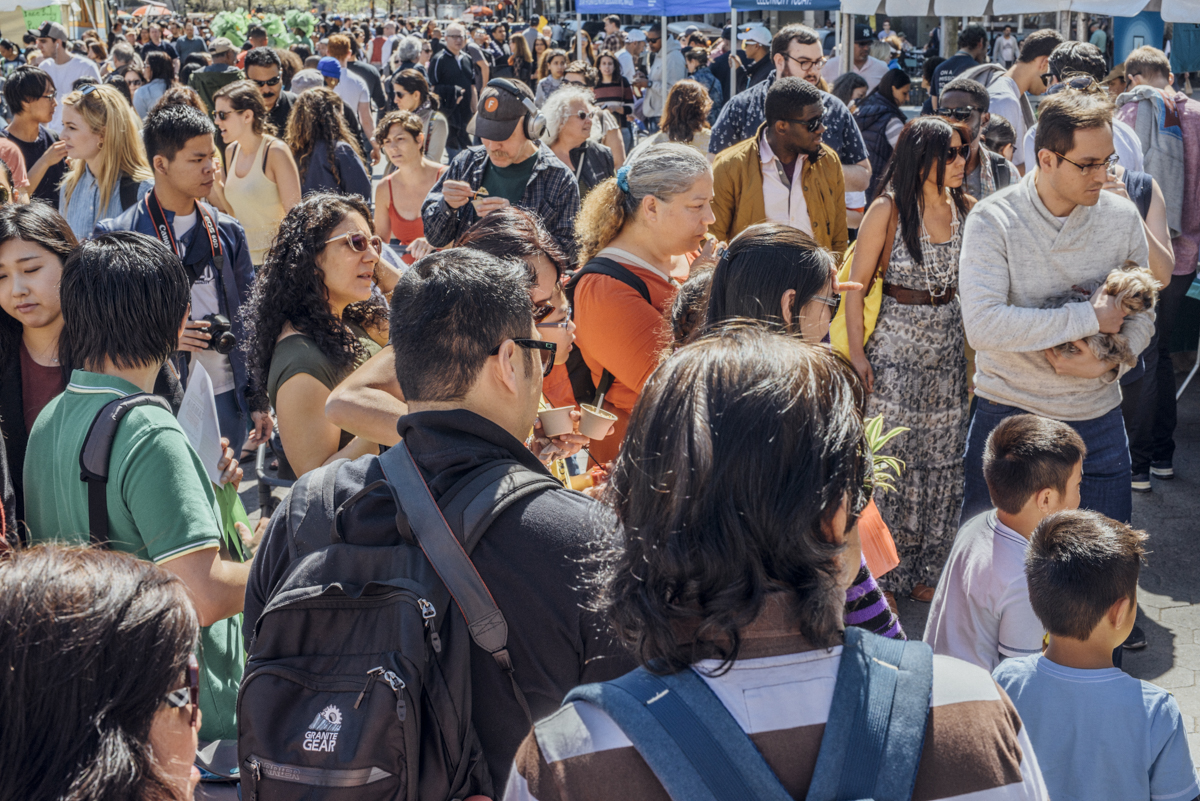 The most high-traffic Earth Day events in the country at Earth Day New York.