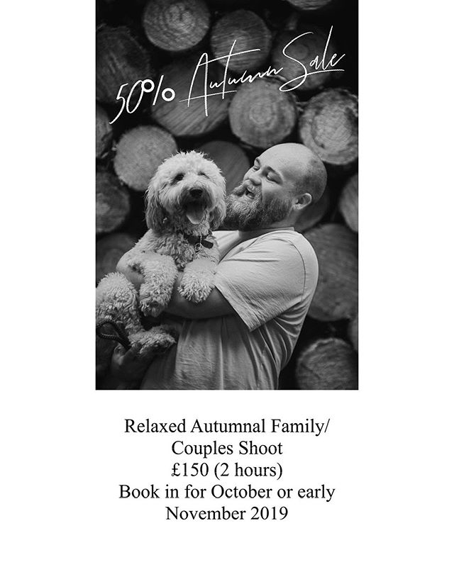 !!! AUTUMN OFFER !!! . Relaxed Autumnal Family/ Couples Shoot just £150 for 2 hours. Book in for October or early November 2019 to take advantage of this deal. . Offer ends 10th November 19. . (Please note - additional travel cost apply after 30miles from Nottingham city centre at 45p per mile) . #wedding #weddingdress #weddingphotography #weddinghair #weddingrings #weddingday #nottingham #engaged #engagedlife #engagedcouple #justengaged #engagednotcaged #engagedandinspired #engagedtothedetails #engagedcouples #engagedaf #newlyengaged #engagementring #engagementphotos #engagementrings #engagementparty #engagement #engagementshoot #engagementphotoshoot #engagements #engagementphotographer