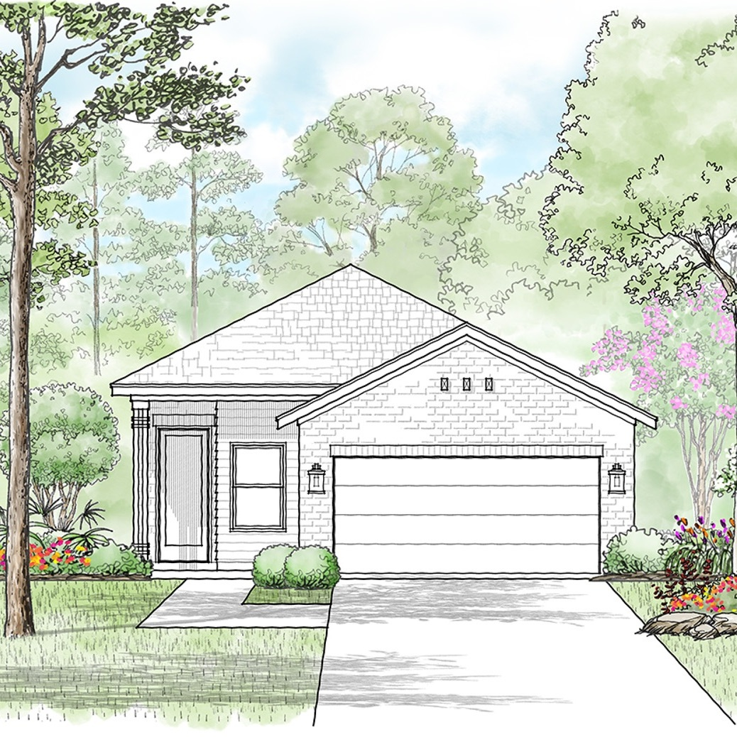 The Monroe - 3 Bed | 2 Bath | 2 Car1,600 sq. ft. Starting at $219,999TOUR THIS MODEL