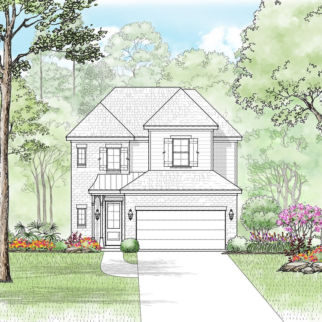 The Linden - 4 Bed | 2.5 Bath | 2 Car2,429 sq. ft.Starting at $249,999