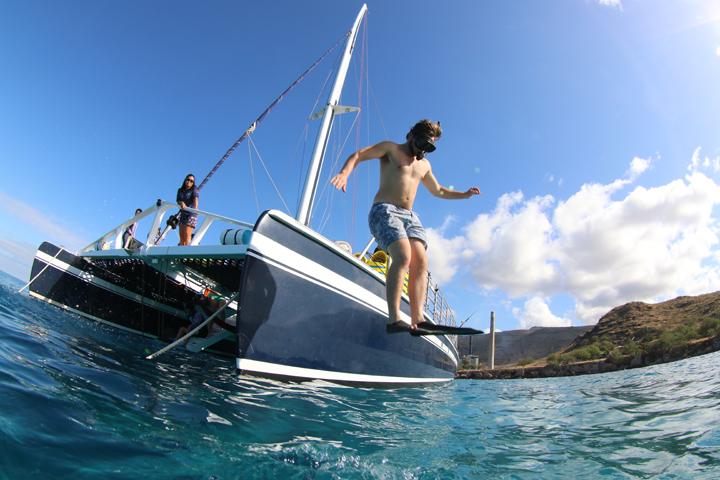 Snorkel Sailing