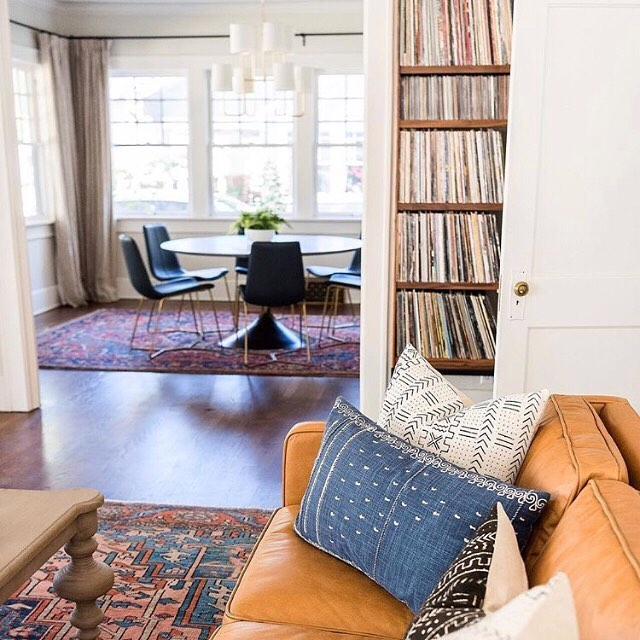 I believe rugs are the foundation of every room. - The character and depth that these one-of-a-kind rugs bring to a home is unmatched. I hope to find homes for the pieces that I have carefully curated. So if you're looking to give your home that timeless, collected feel, welcome to Woven Abode.