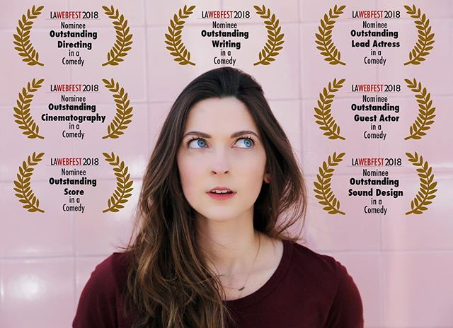 We are so honored and excited to be nominated at the #lawebfest 😄Congrats to our amazing cast and crew of MONDAYS! Thank you to everyone for your love and support with our show 💛