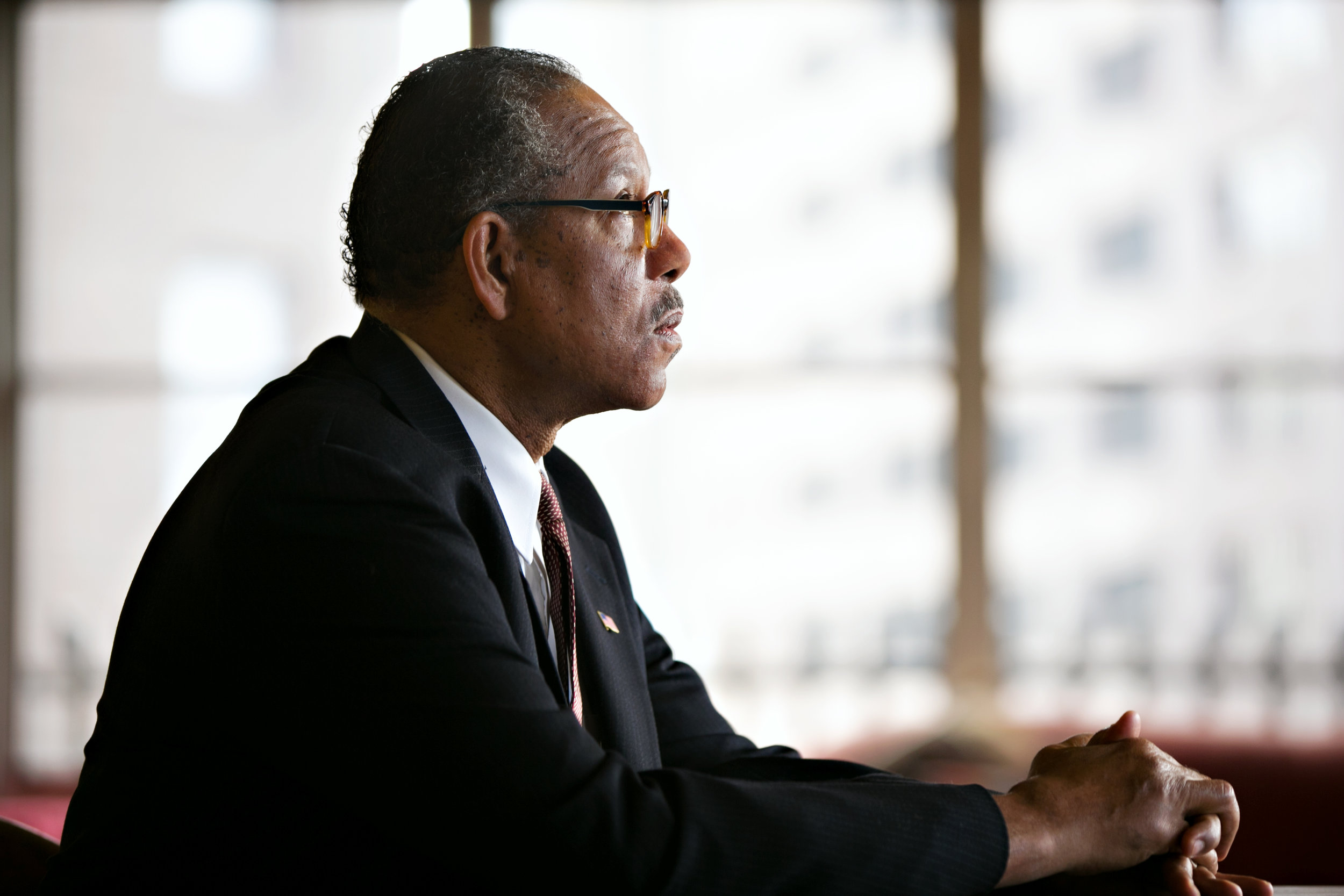 James Craven as Thurgood Marshall.