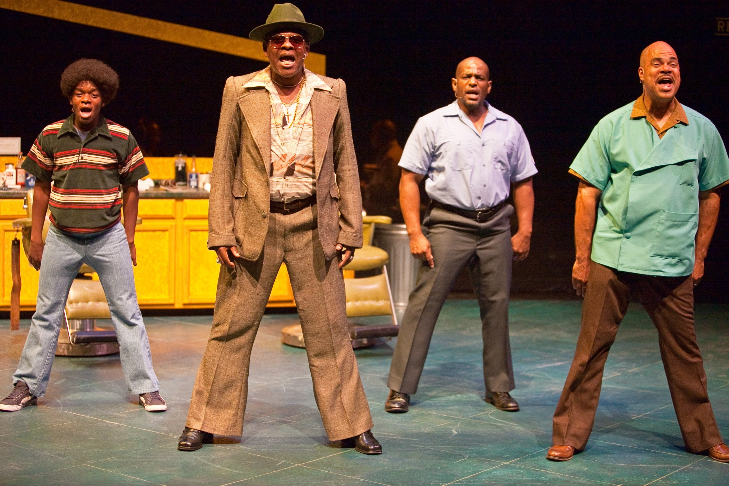 Jackson Hurst Dennis Spears, Julius Collins and T Mychael Rambo in  Always and Forever.