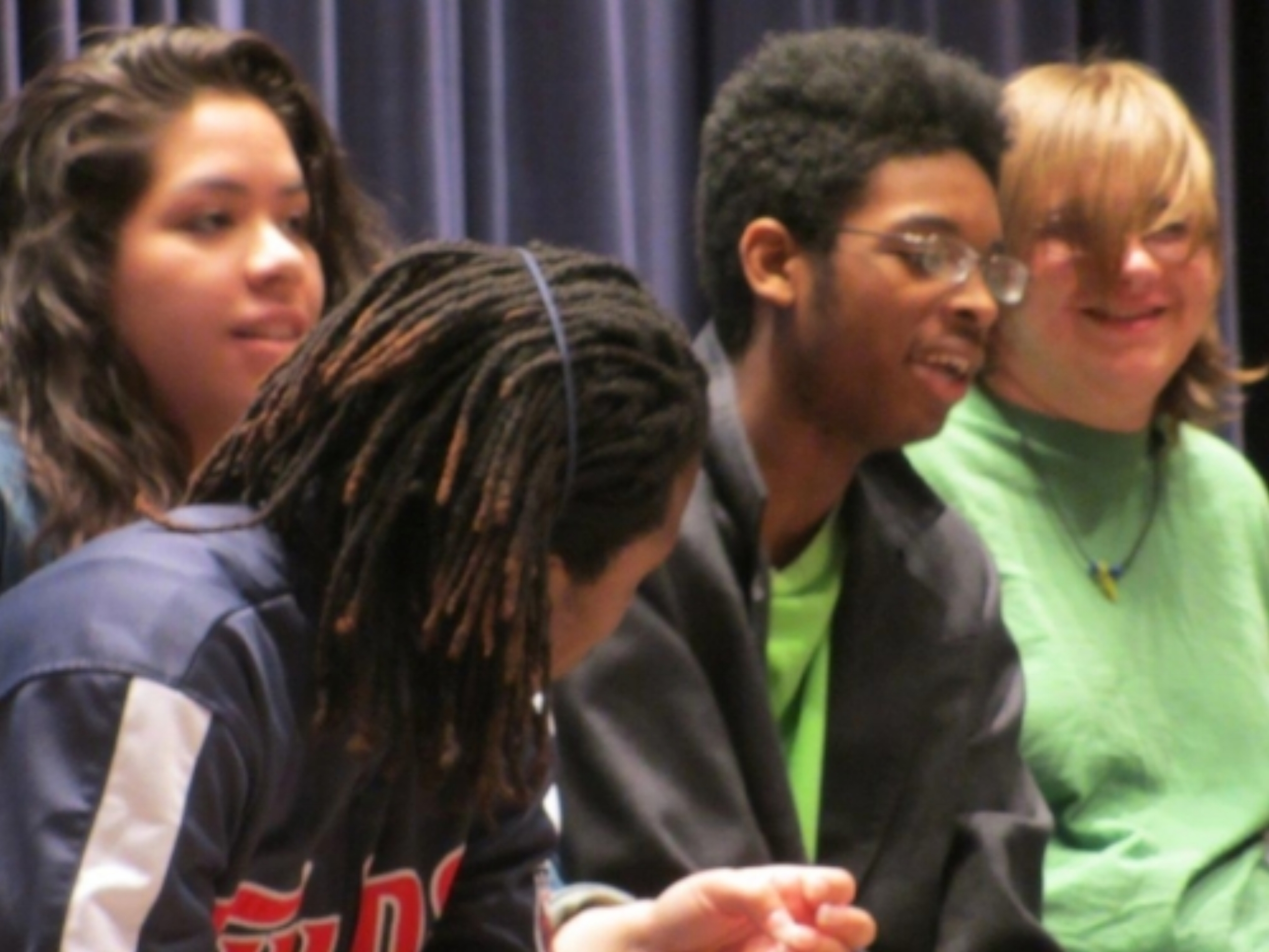 Students in the H-Art Hands -On Arts Program at South High School