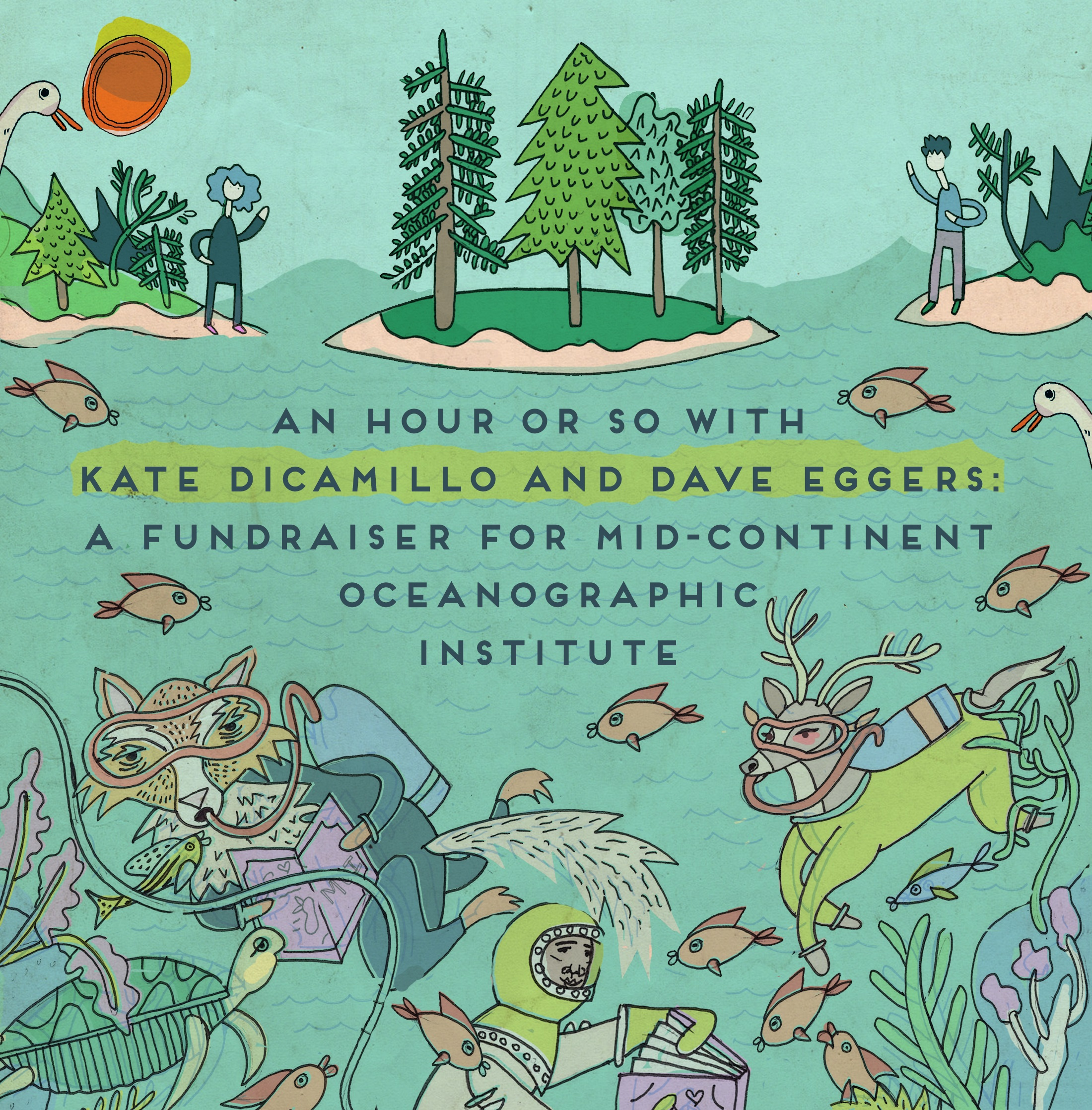 An Hour or So With Kate DiCamillo and Dave Eggers