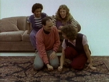 From the 1983 film of TOUCH-- Faye Price, Marysue Moses, Bonnie Morris and Michael Robins