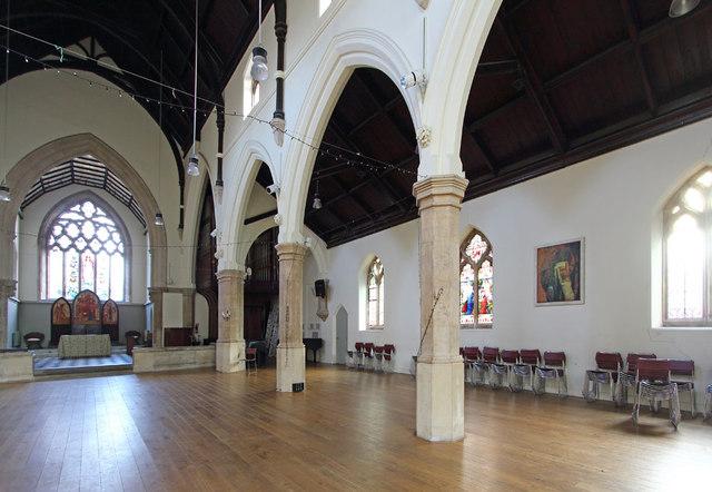 St Luke's, Holloway - This was Rev Dave Tomlinson's parish (see