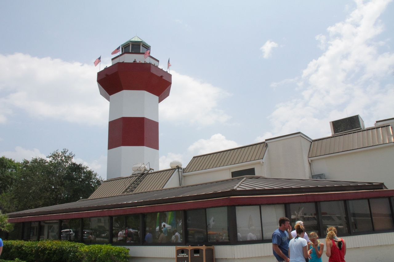 Bumper sticker lighthouse, which you had to pay to see