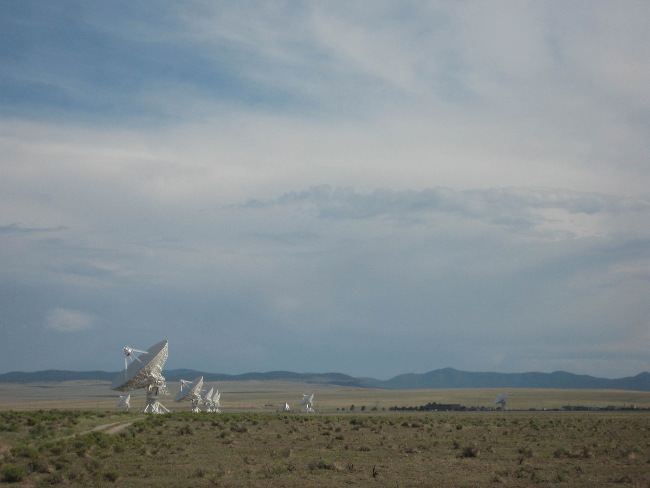 """The Very Large Array, part of the National Radio Astronomy Observatory...Think """"Contact""""."""