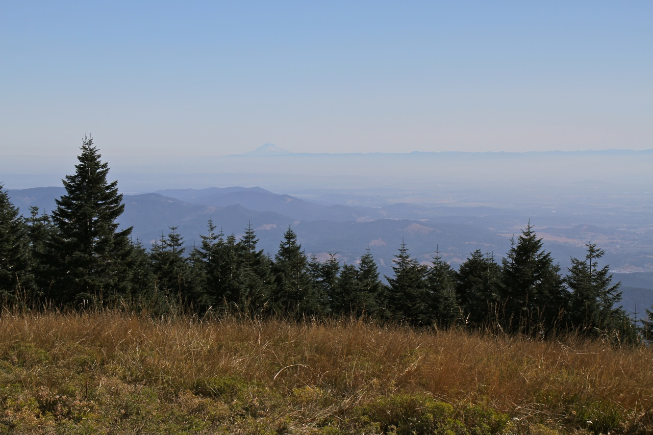 View from Mary's Peak, Oregon