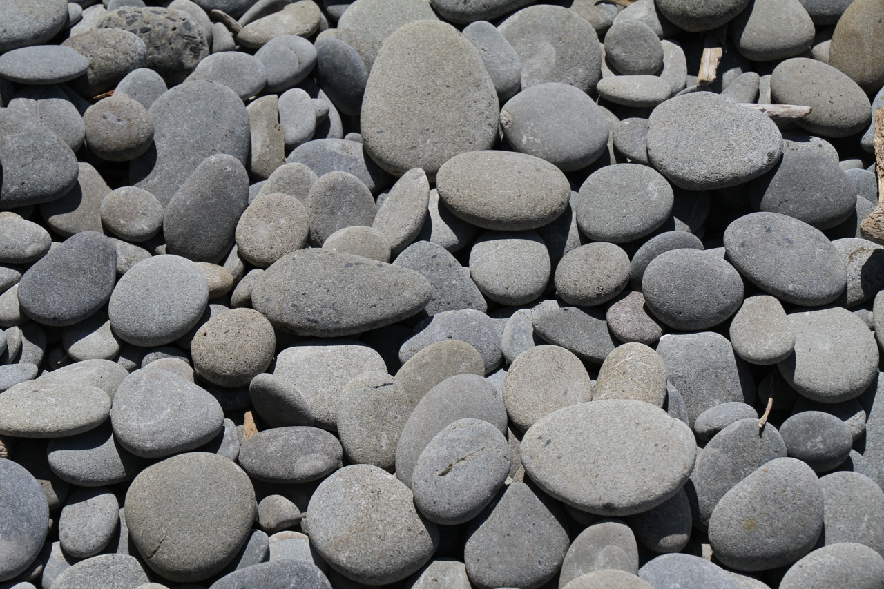 Olympic shore stones