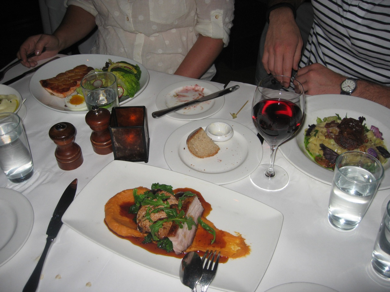 Dinner at Absinthe