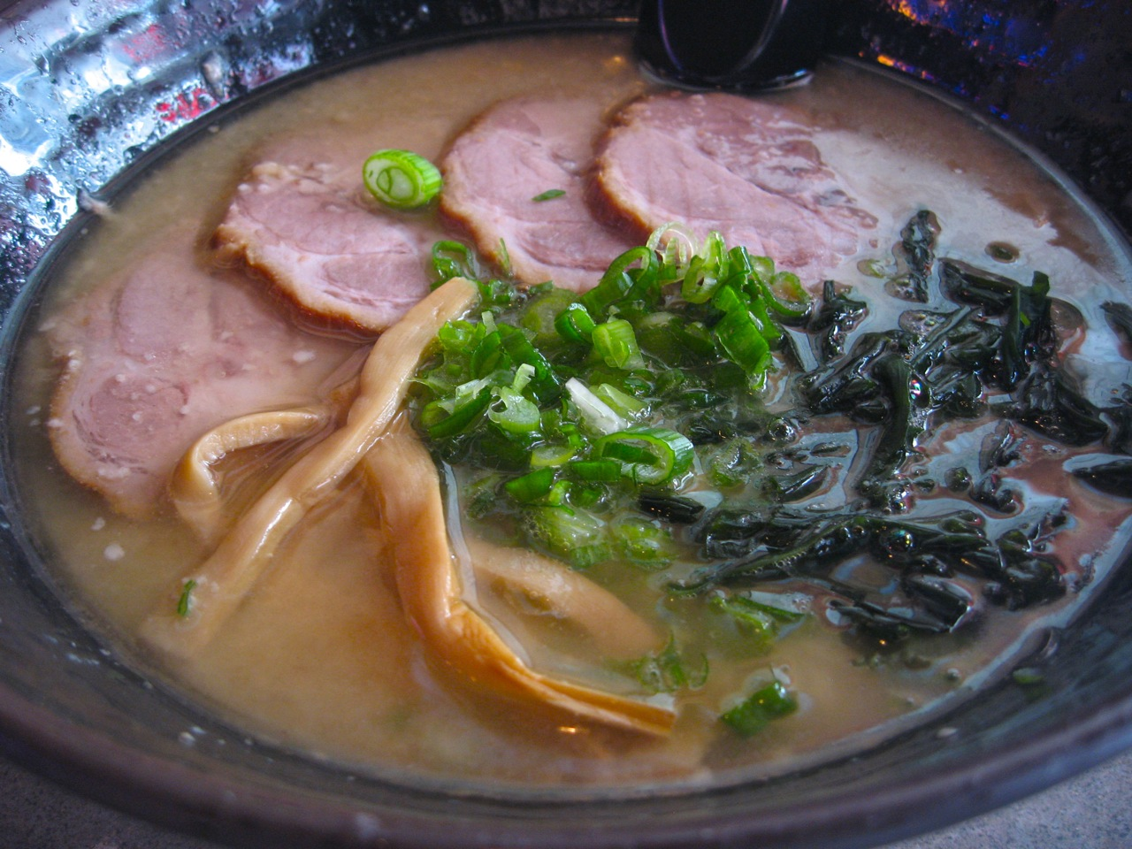 Pork ramen at Katana-ya