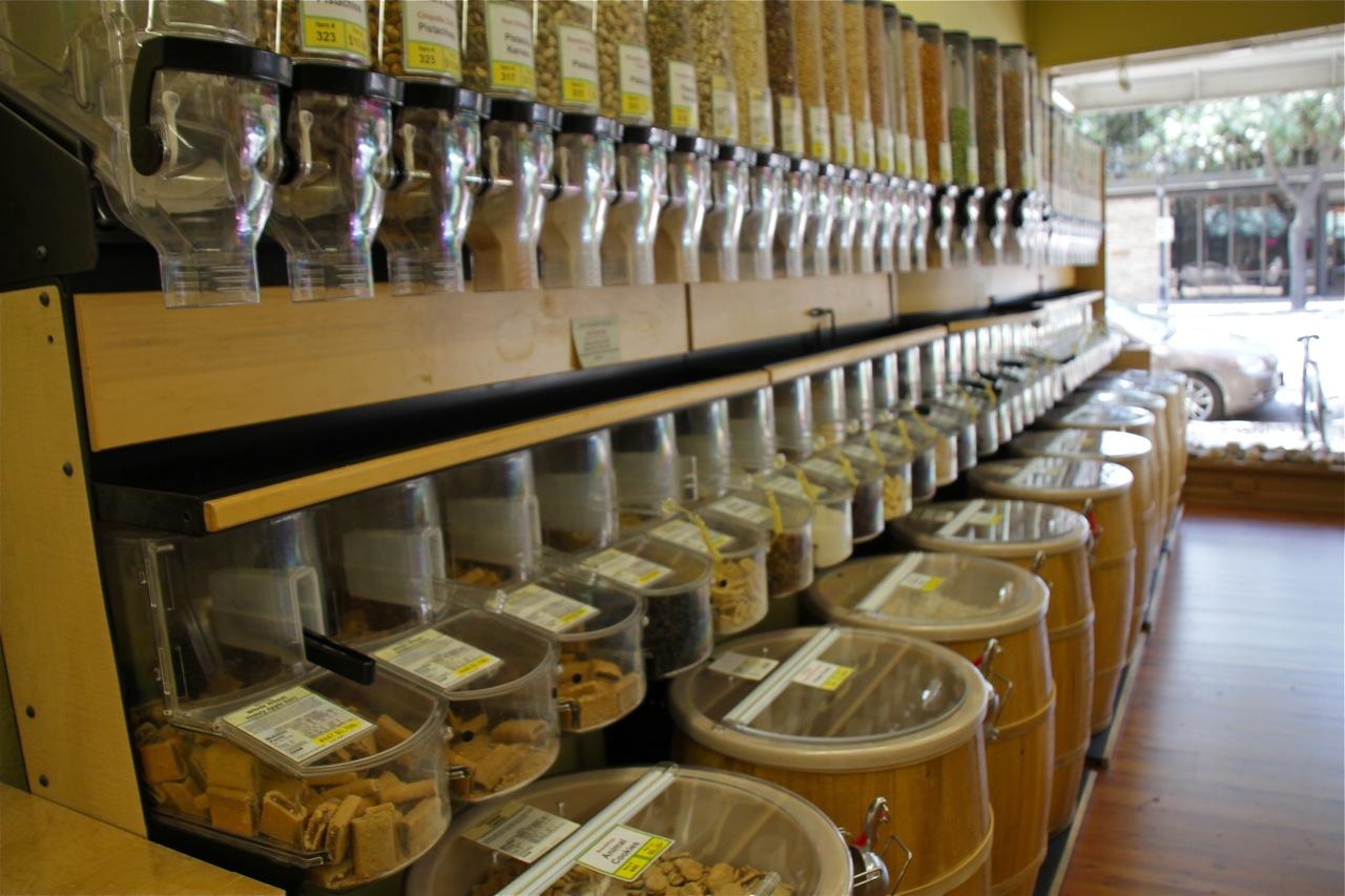Bulk food store in Longmont, Colorado
