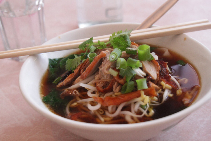 Duck Noodle Soup at Nina's Ploy Thai in Sydney