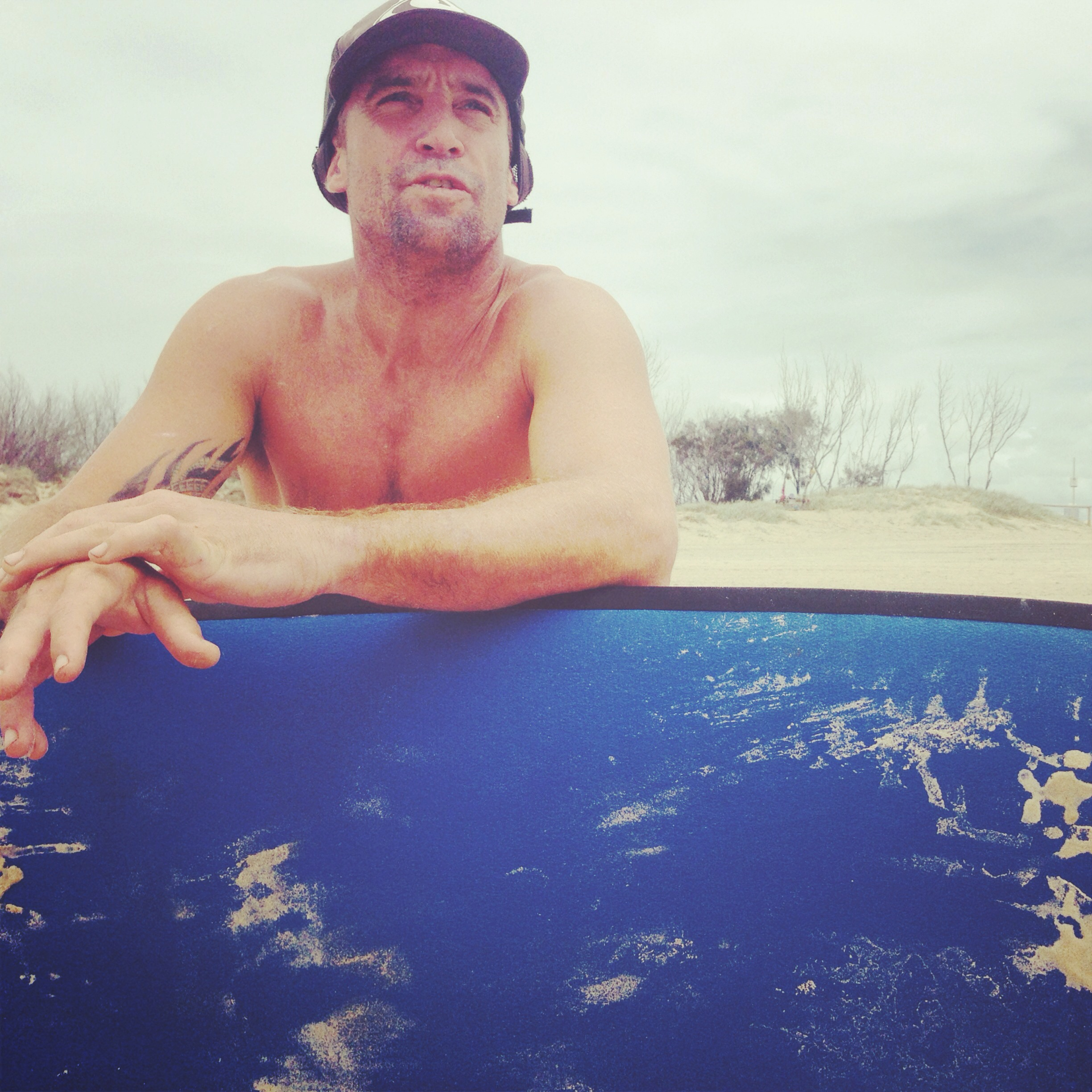 Our intrepid surf instructor, Craig