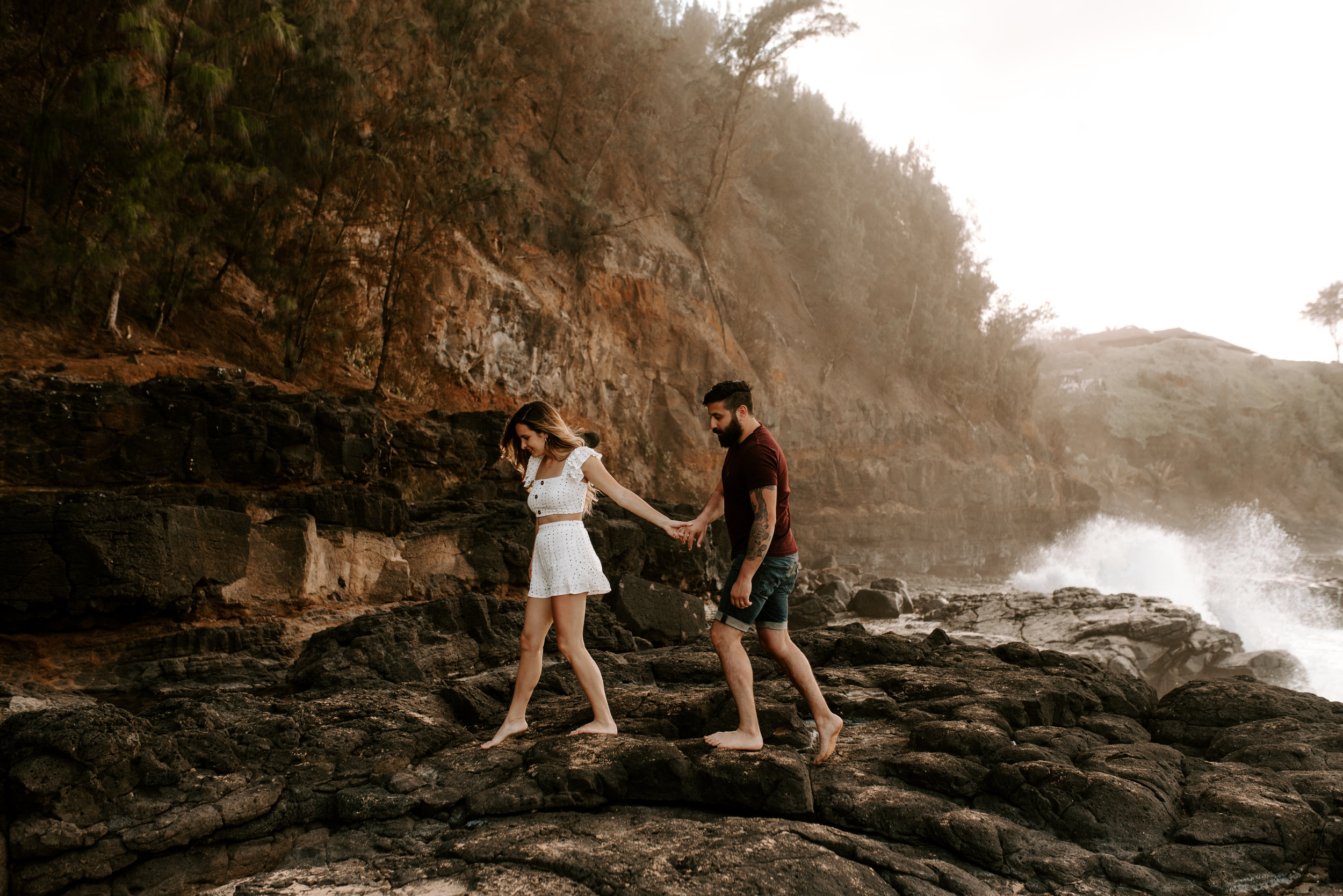 Couple session in Kauai