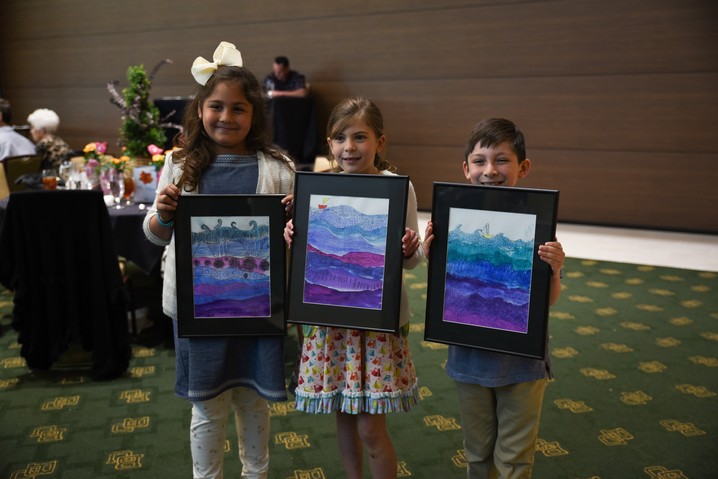 Students from Hillcrest PDS Elementary School auctioned off their beautiful artwork | 2016