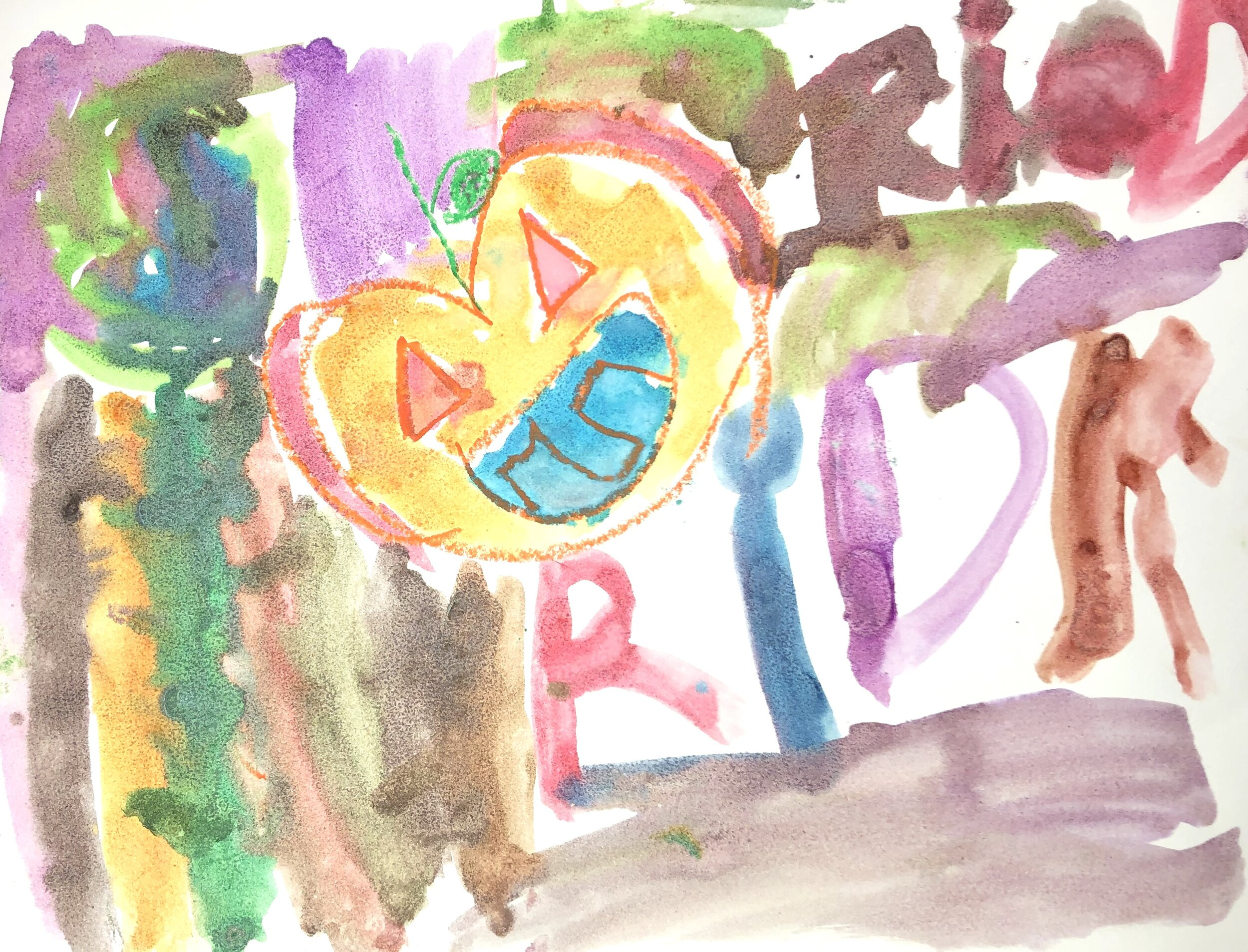 Artwork done by a Kindergarten student
