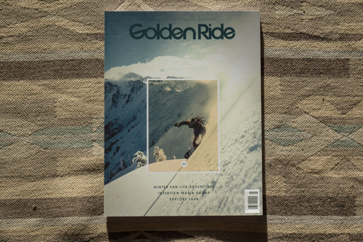 Golden Ride Magazine, issue 44, a German Magazine boardsports, travel and culture magazine, has published an interview and Portfolio about our project Life in White.  You can check it in our  blog.