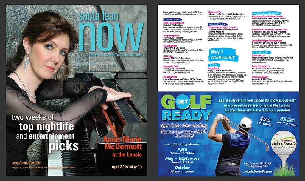 Santa Fean NOW - Get Golf Ready - Marty Sanchez Links de Santa Fe Golf Course - Henry Gerard Lucero