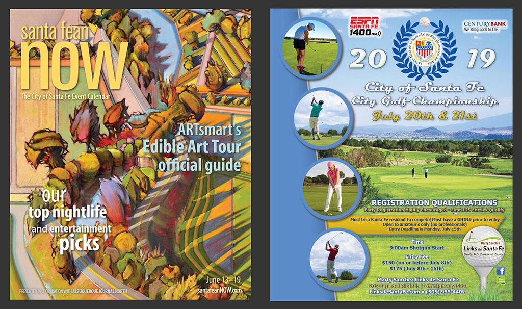 Santa Fean NOW - 2019 City of Santa Fe Golf Championship Advertisement - Marty Sanchez Links de Santa Fe Golf Course - Henry Gerard Lucero-OV.jpg