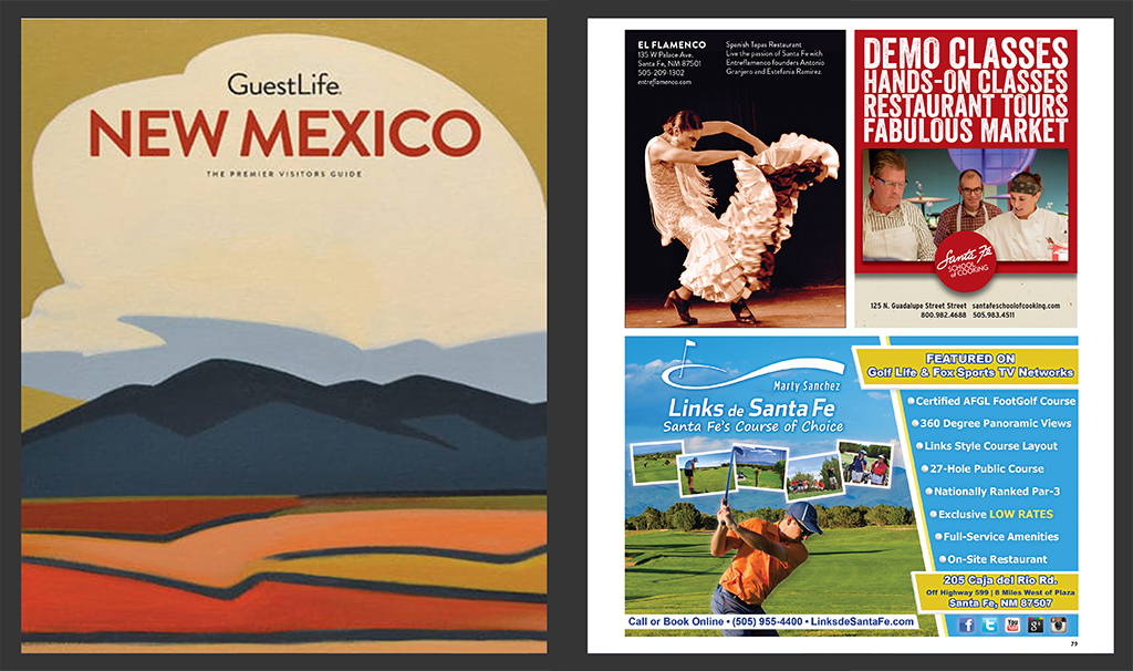 Print & Publishing Advertisements - Fine Lifestyles Magazine Advertisement - City Golf Championship - Marty Sanchez Links de Santa Fe Golf Course