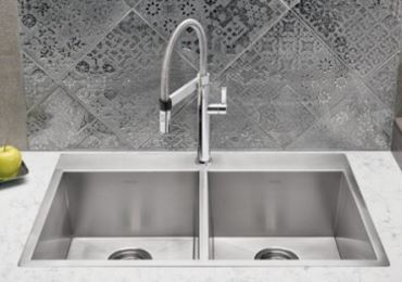 Updated drop-in style sink