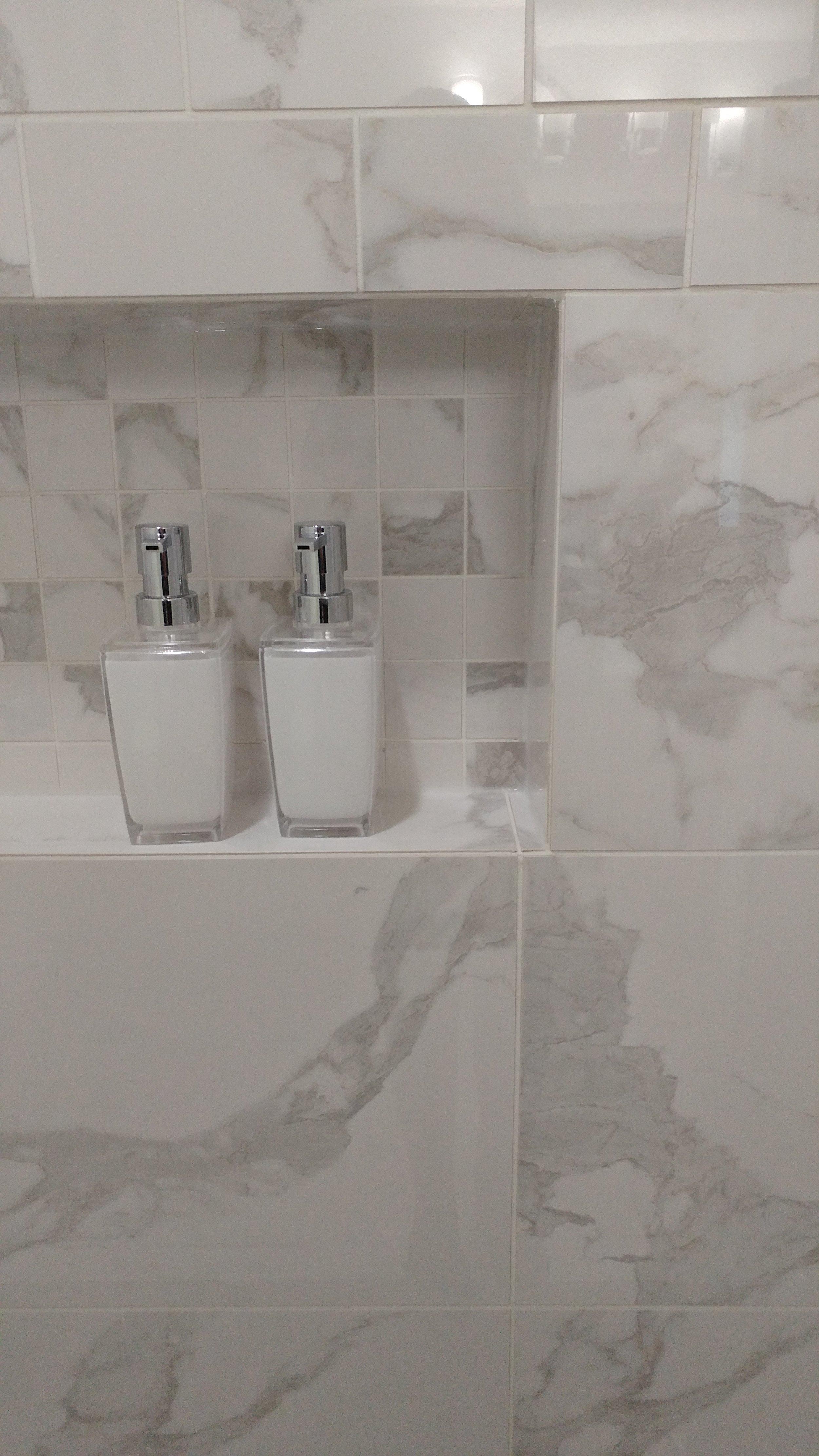 """""""Marble"""" porcelain tile"""