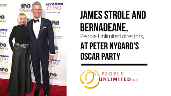 People Unlimited Peter Nygard's Oscar Party