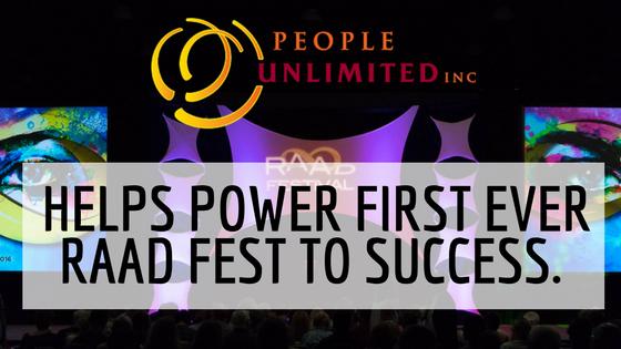 RAAD Fest People Unlimited