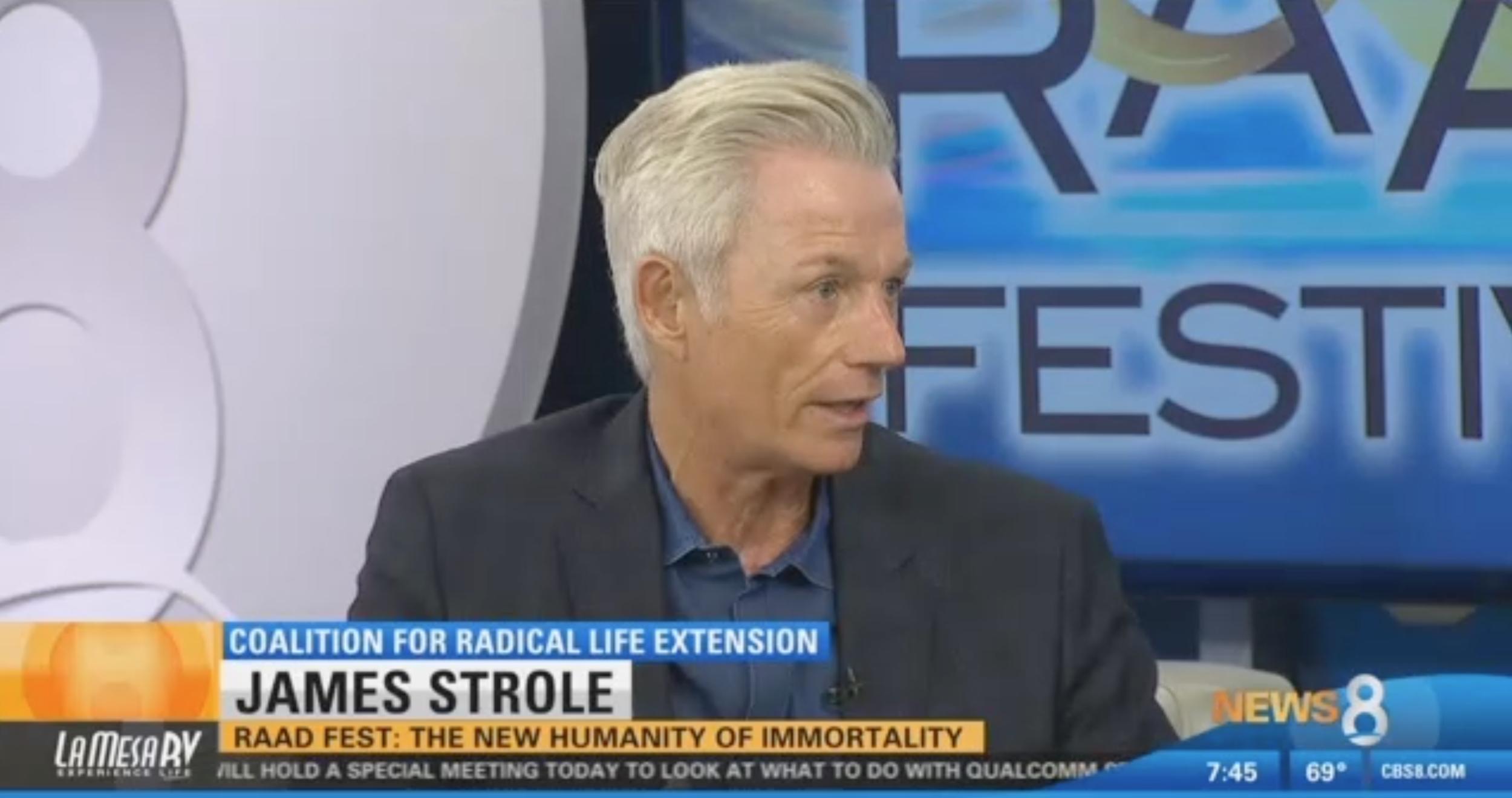 James Strole TV CBS RAADfest People Unlimited