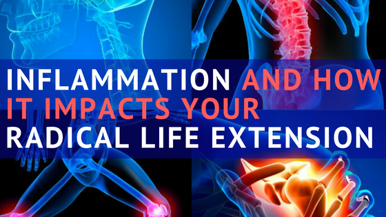 Inflammation and radical life extension