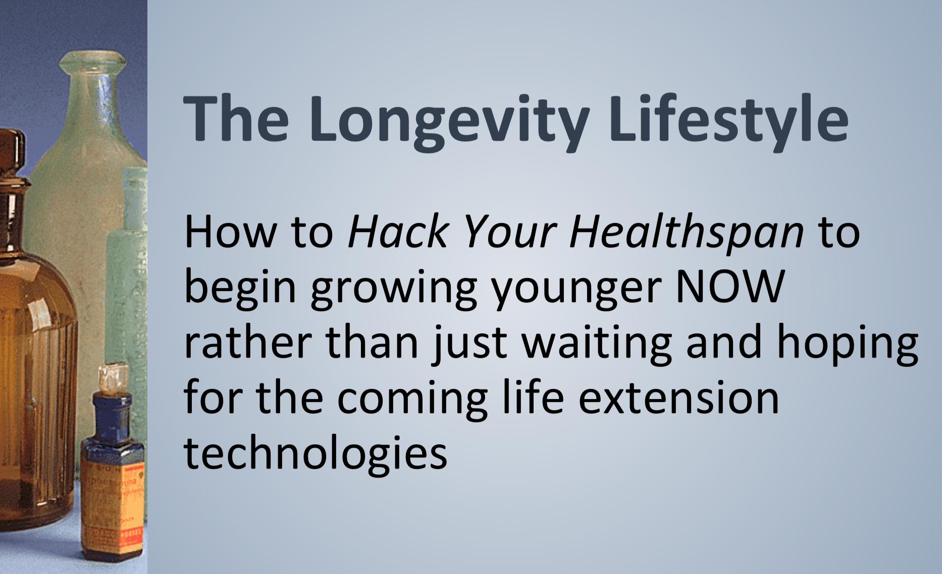 People Unlimited - The longevity lifestyle