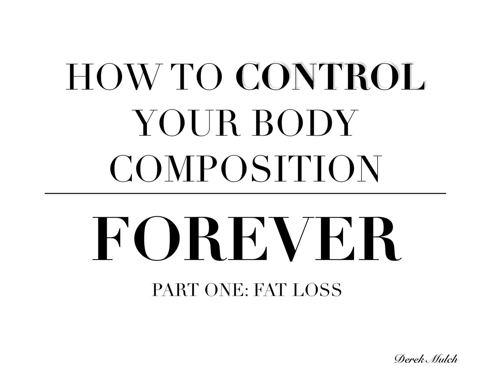 People Unlimited control your body composition forever