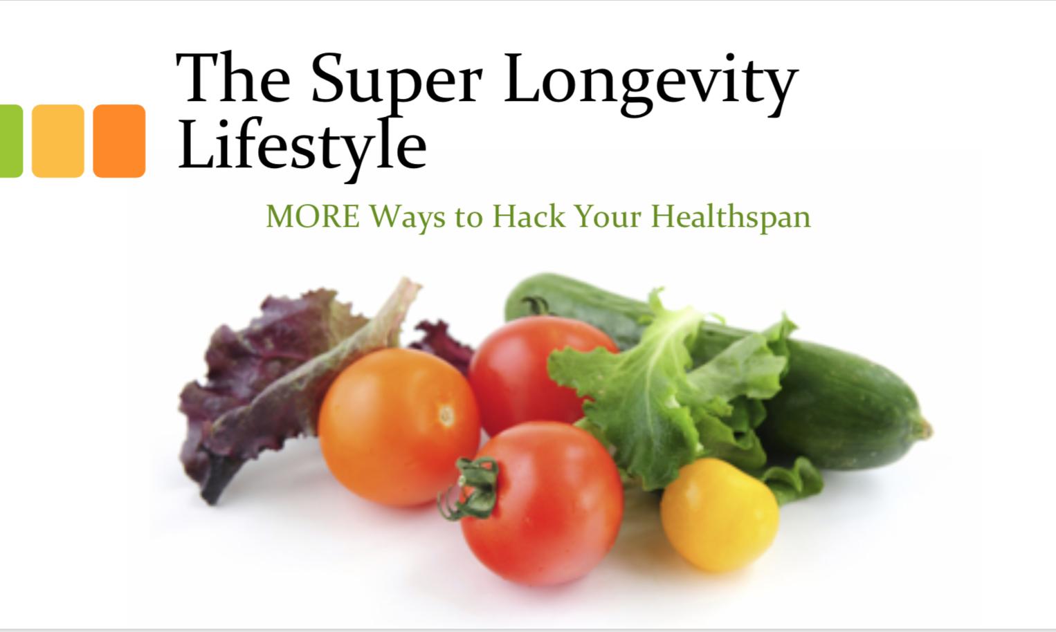People Unlimited Super Longevity Lifestyle Dr Kat Cotter
