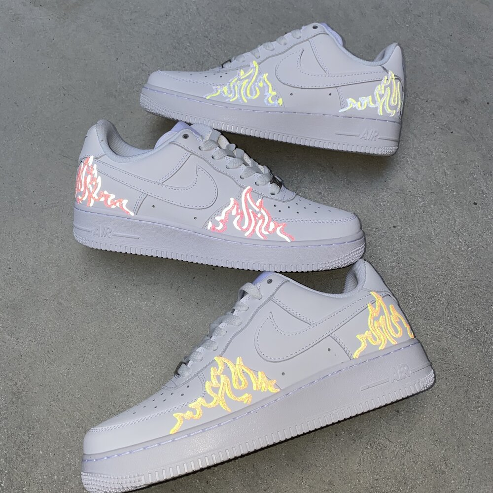 air force 1 neon