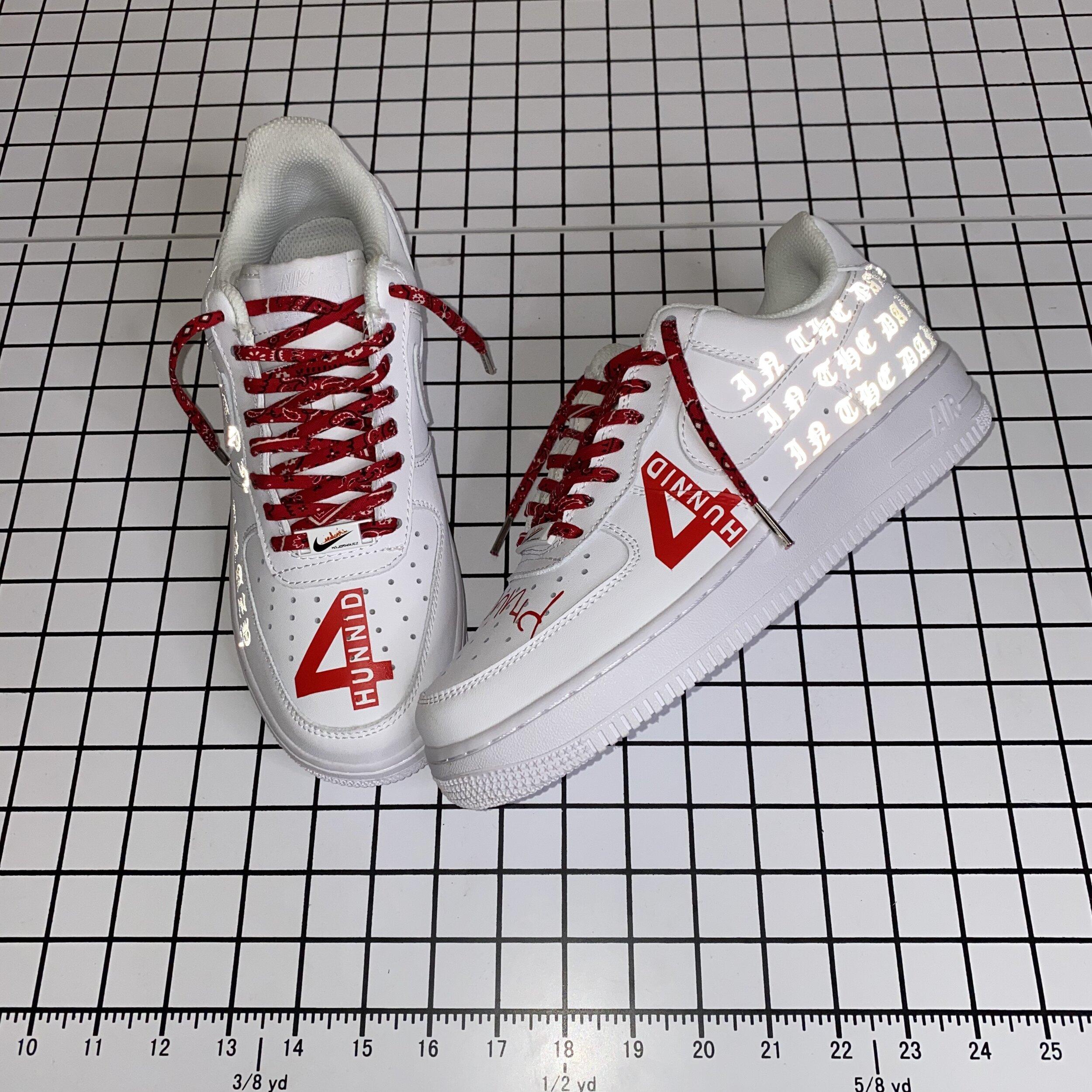 YG Inspired Air Force 1 Custom