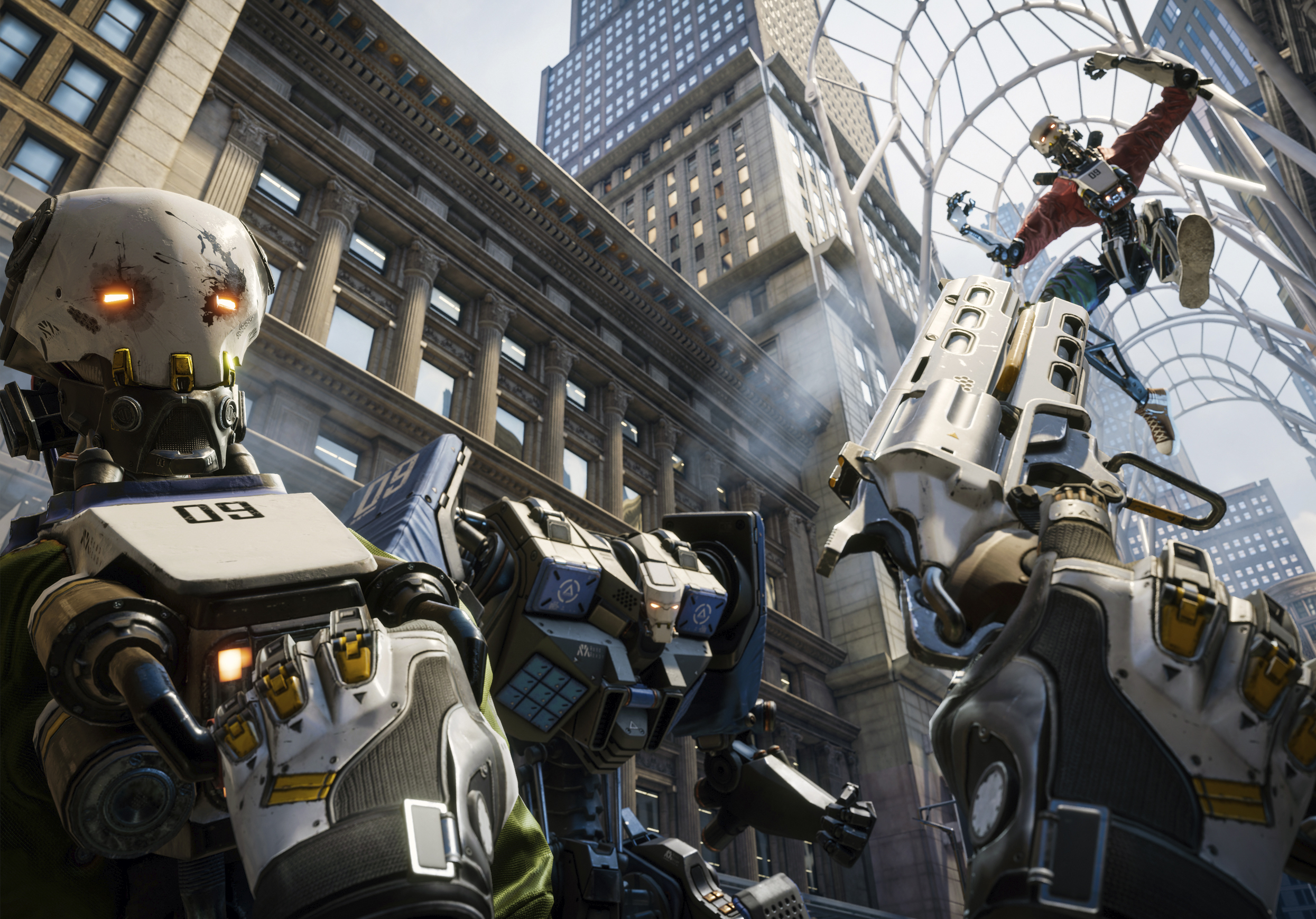 Robo Recall VR - RYZIN Provided Vehicles for Epic Games for Robo Recall(UNDER NDA)