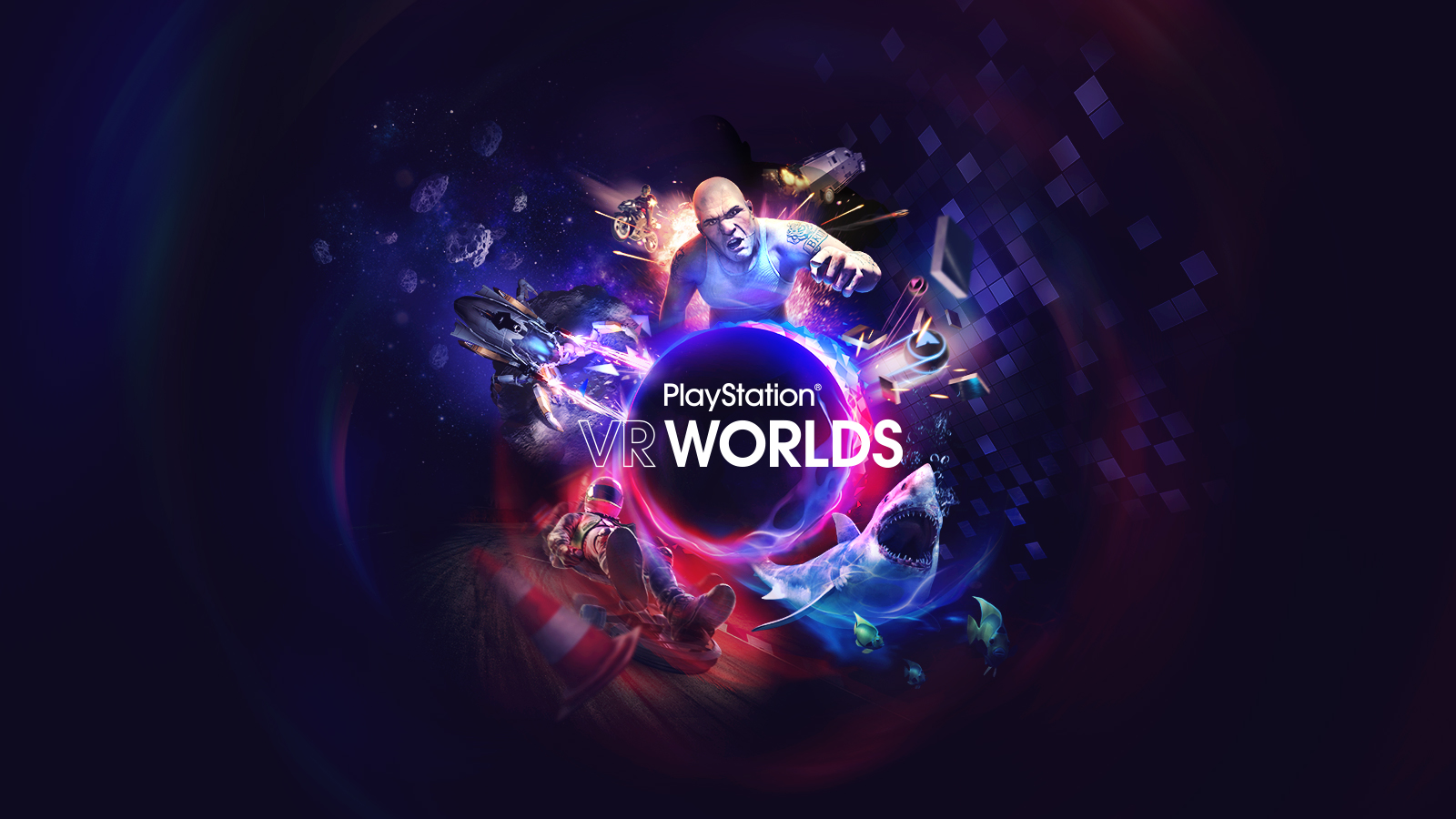 PlayStation VR Worlds - RYZIN Provided Weapons, Vehicles, and More for Sony London Studio.(UNDER NDA)