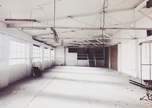 Our new project site looking ready for its new design. More work in progress to come.  #wip #demolition #cleanslate