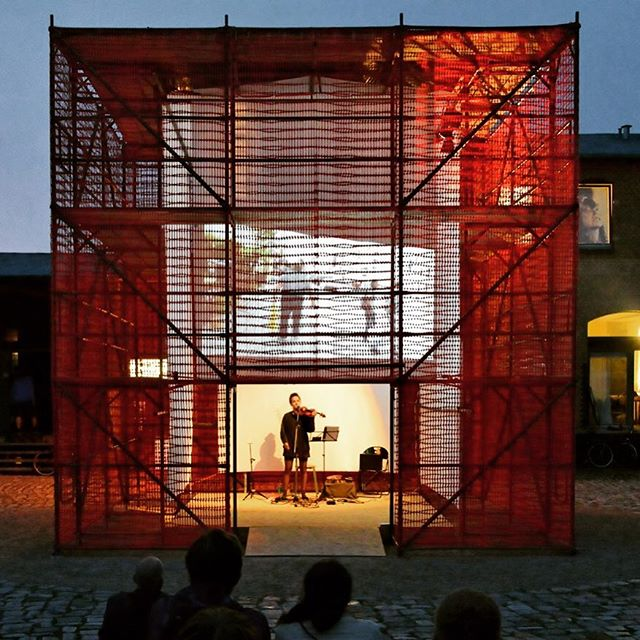 The time Studio Osk travelled to Berlin to build a temporary pavilion for experiments in art and architecture. We miss everyone involved and cherish the memories! . . . #stadtumbau #pavilion #architecture #berlin #zku