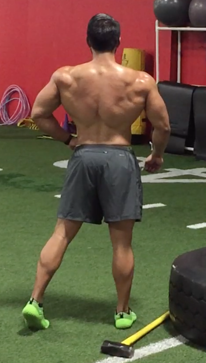 Ben 2 weeks before competition